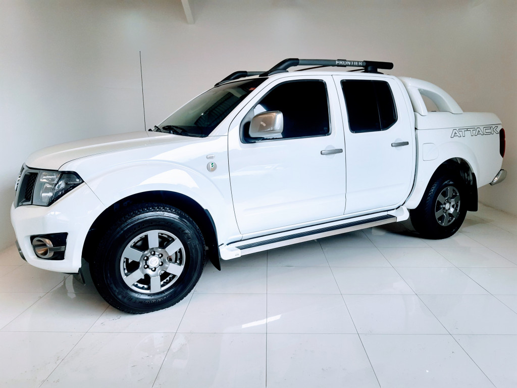 NISSAN FRONTIER 2.5 SV ATTACK 10 ANOS 4X4 CD TURBO ELETRONIC DIESEL 4P MANUAL