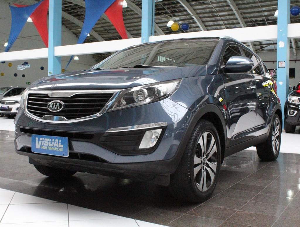 Imagem do veículo KIA SPORTAGE EX 2.0 FLEX 4P AUTOMÁTICO - 2013 - AZUL