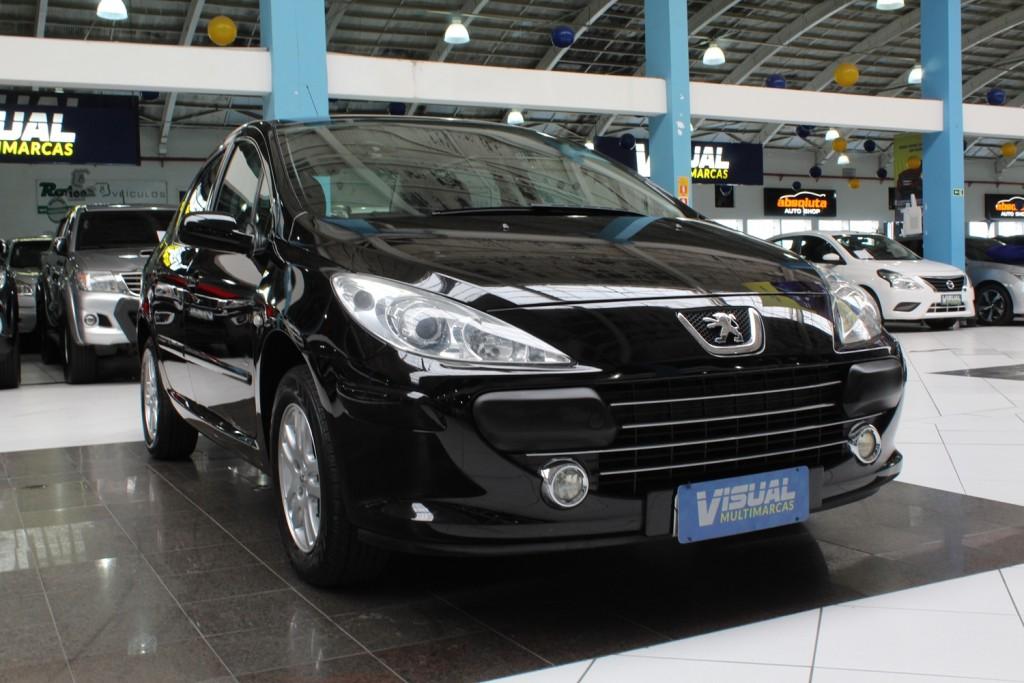 Imagem do veículo PEUGEOT 307 SEDAN PRESENCE 1.6 FLEX 4P MANUAL - 2011 - PRETO