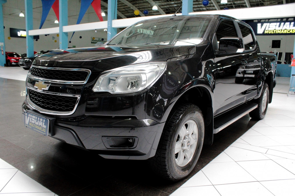 CHEVROLET S10 LT CD 2.5 4x2 FLEX 4P MANUAL 6M - 2016 - PRETO
