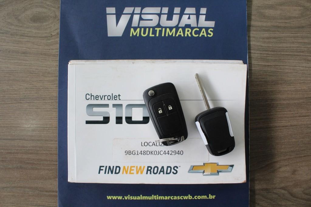 Imagem do veículo CHEVROLET S10 LS CD 2.8 4X4 DIESEL 4P MANUAL 6M - 2018 - BRANCO