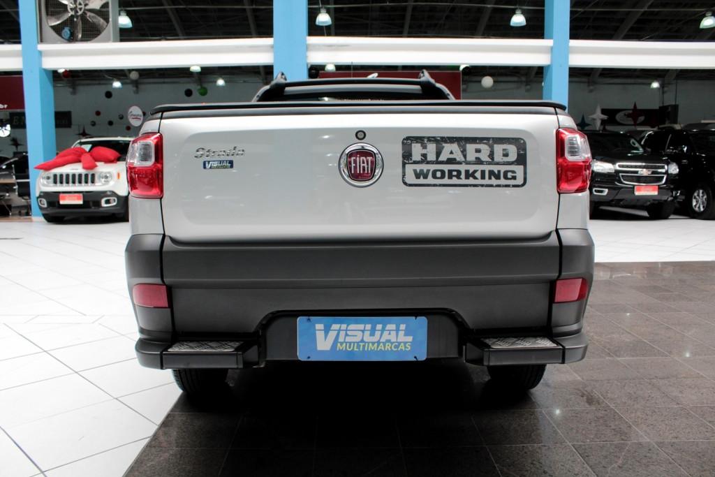 Imagem do veículo FIAT STRADA HARD WORKING CS 1.4 FLEX 2P MANUAL - 2019 - PRATA