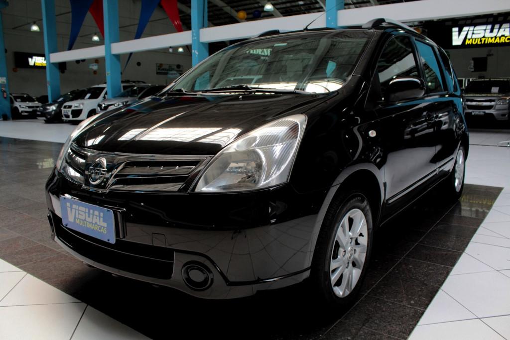 NISSAN LIVINA S 1.8 FLEX 4P AUTOMÁTICO - 2014 - PRETA
