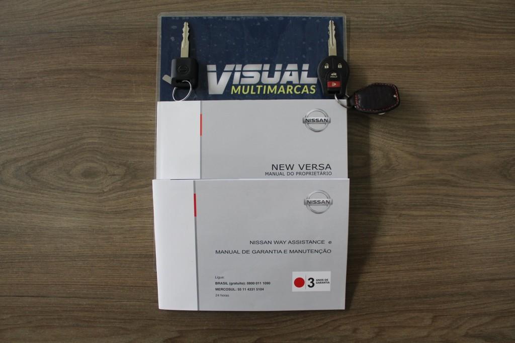 Imagem do veículo NISSAN VERSA S 1.0 FLEX 4P MANUAL - 2016 - CINZA