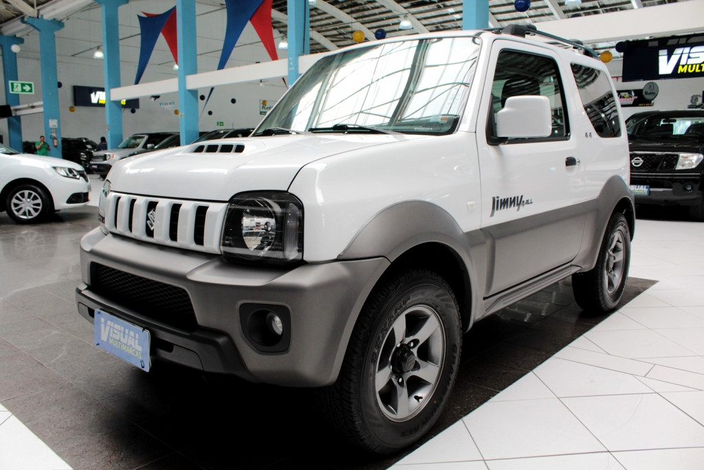 SUZUKI JIMNY 1.3 4ALL 4X4  2P MANUAL - 2015 - BRANCO