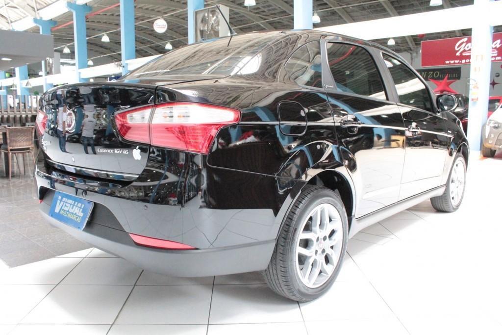 Imagem do veículo FIAT GRAND SIENA  1.6 ESSENCE  FLEX 4P AUTOMATIZADO 5M - 2014 -PRETO