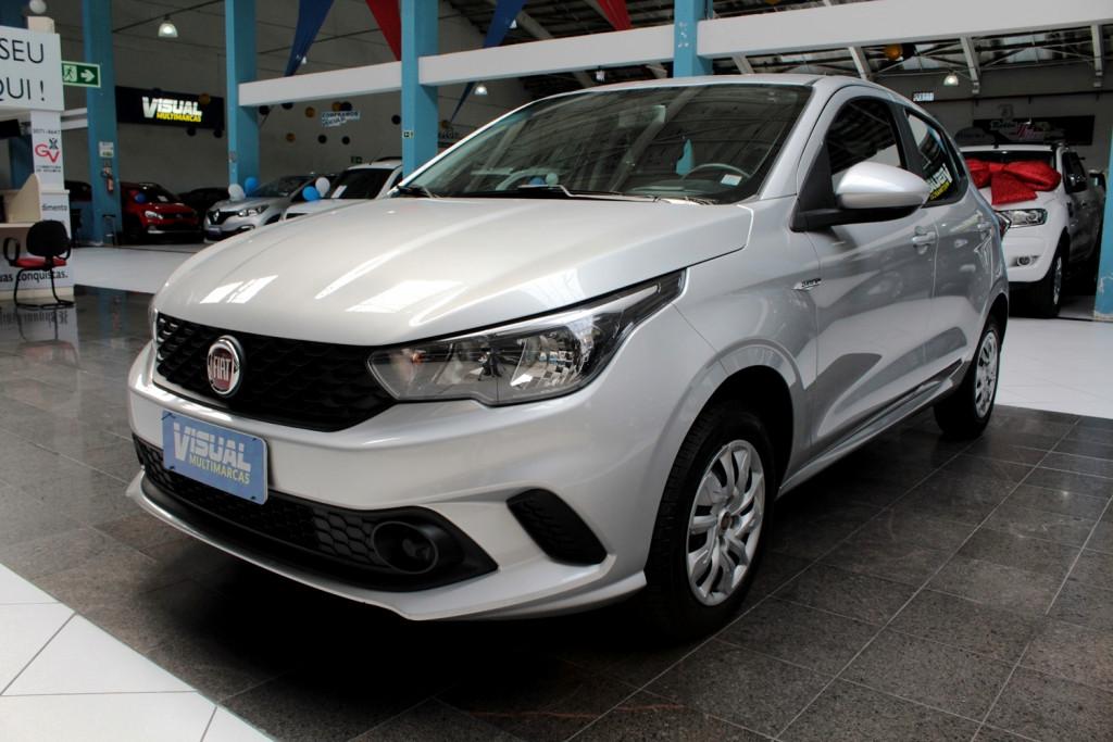 FIAT ARGO  DRIVE 1.0 4P MANUAL - 2020 - PRATA