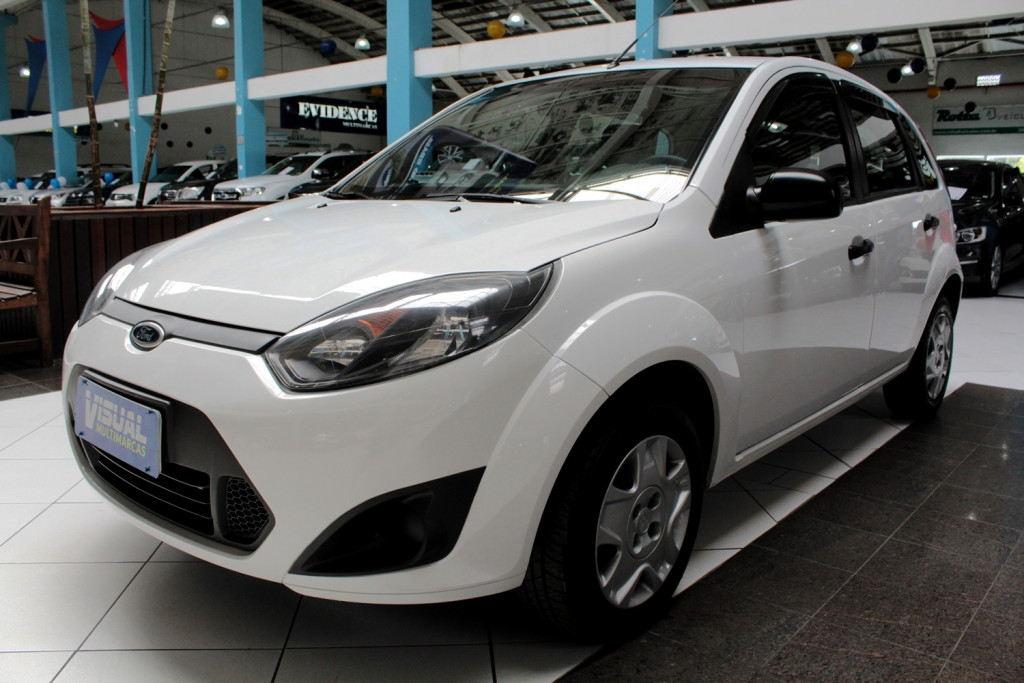 FORD FIESTA 1.0 4P MANUAL - 2012 - BRANCO