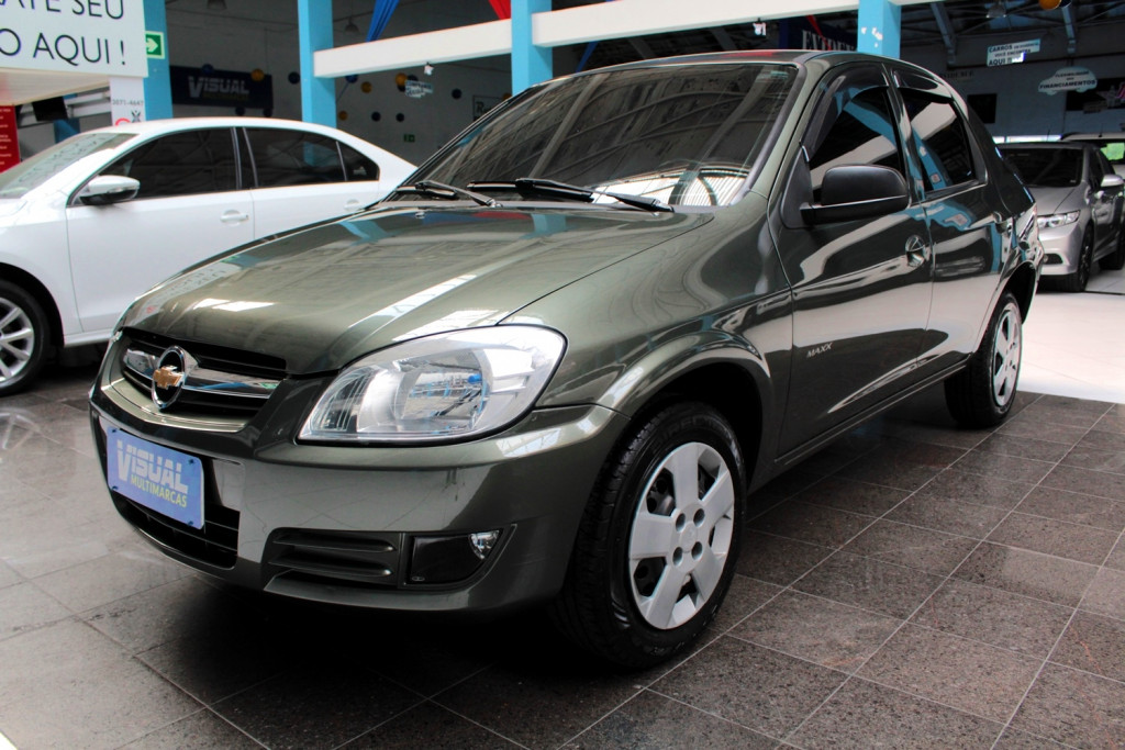 CHEVROLET PRISMA 1.4 MAXX FLEX 4P MANUAL - 2011 - VERDE