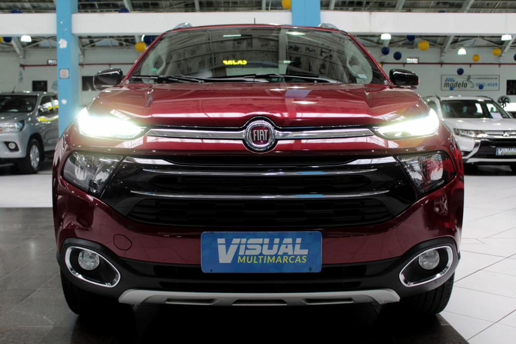 Imagem do veículo FIAT TORO 2.0 VOLCANO TURBO DIESEL 4X4 4P CD AUTOMÁTICO 9M - 2019 - VERMELHO