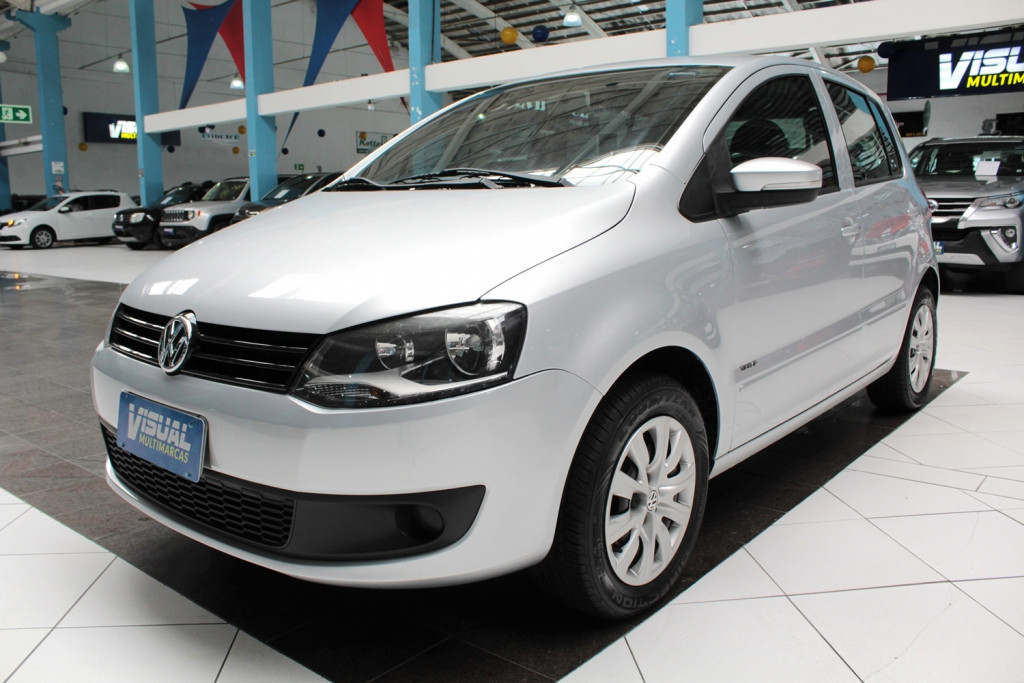 VOLKSWAGEN FOX 1.0 FLEX 4P MANUAL - 2012 - PRATA