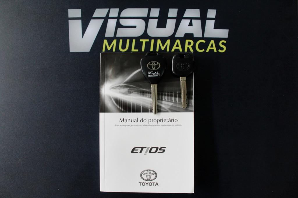 Imagem do veículo TOYOTA ETIOS 1.3 X  FLEX 4P AUTOMÁTICO  - 2018 - PRATA