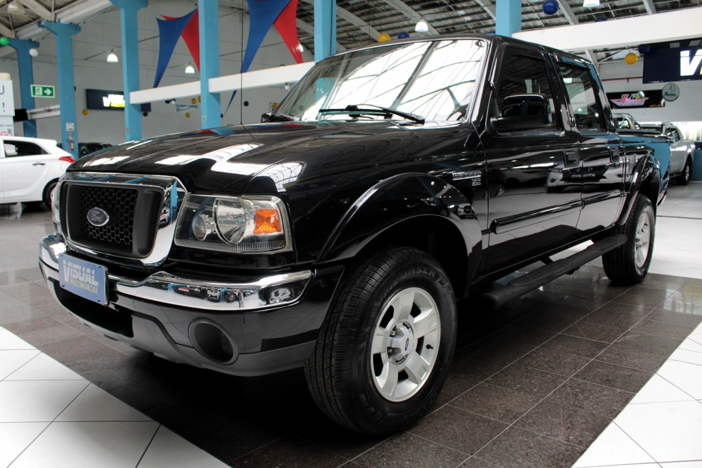 FORD RANGER 2.3 XLT 4X2 CD 4P MANUAL - 2008 - PRETO