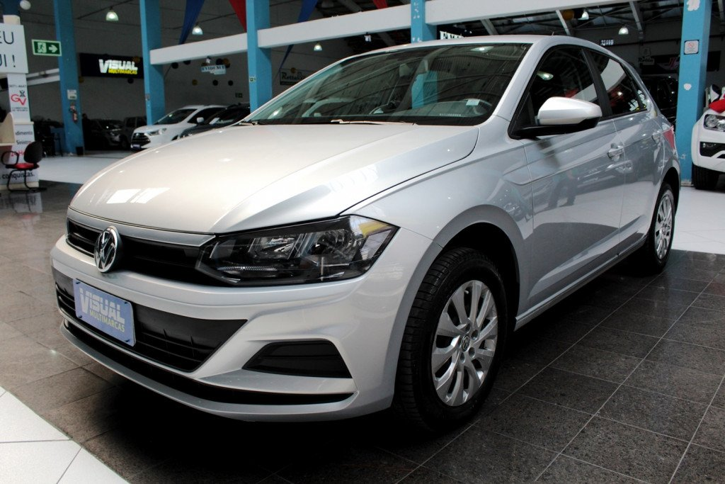 VOLKSWAGEN POLO 1.0 FLEX 4P MANUAL - 2020 - PRATA