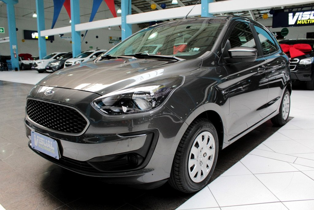 FORD KA 1.0 SE FLEX 4P MANUAL - 2020 - CINZA