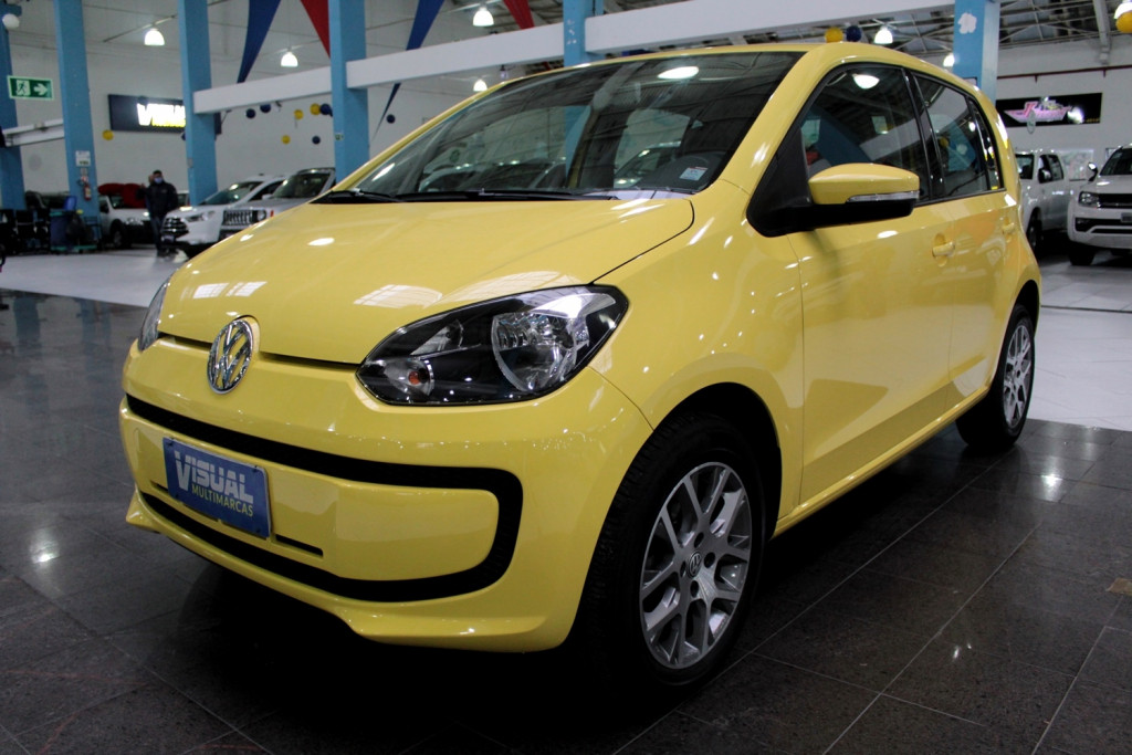 VOLKSWAGEN UP 1.0 MOVE FLEX 4P MANUAL - 2015 - AMARELO