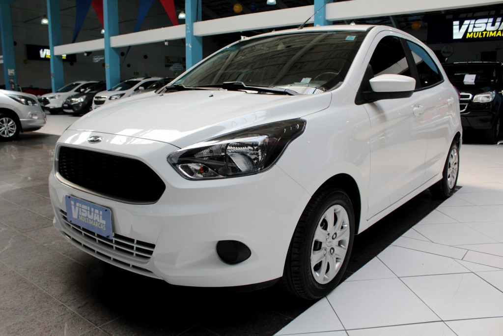 FORD KA 1.0 SE FLEX 4P MANUAL - 2016 - BRANCO