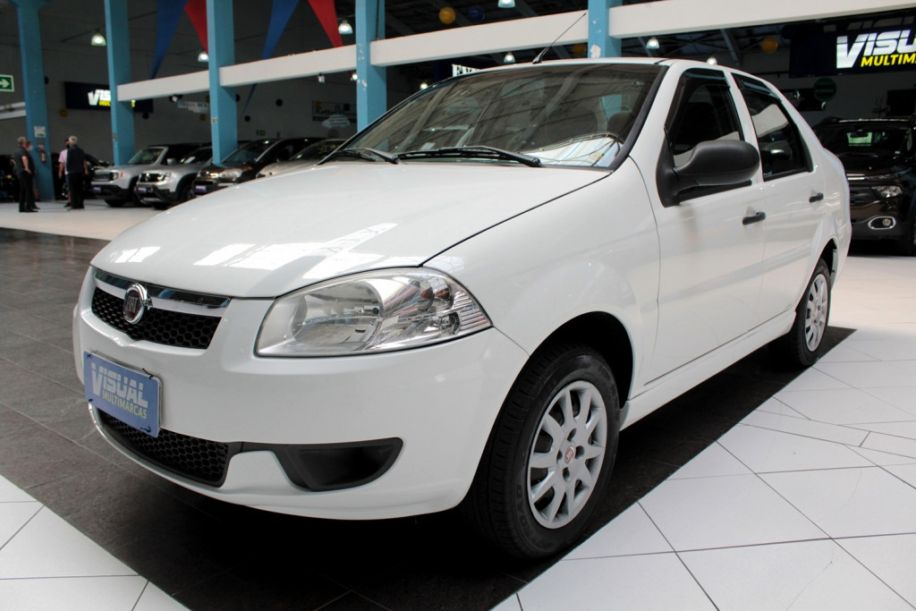 FIAT SIENA 1.4 EL FLEX 4P MANUAL - 2014 - BRANCO