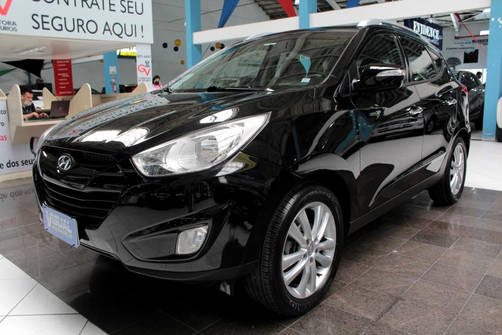 HYUNDAI IX35 2.0 4P FLEX  AUTOMÁTICO 6M - 2012 - PRETO