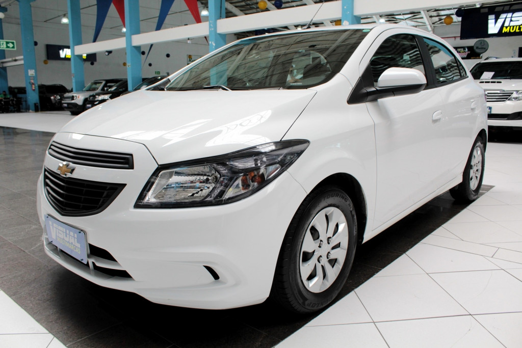 CHEVROLET ONIX 1.0 JOY FLEX 4P MANUAL 6M - 2019 - BRANCO