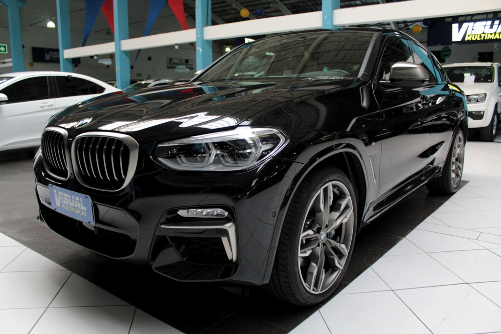 BMW X4 3.0 M40I TWINPOWER AWD 4P AUTOMÁTICO 8M - 2020 - PRETO