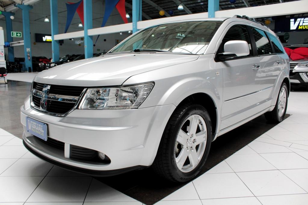 DODGE JOURNEY 2.7 V6 R/T 4P 7L AUTOMÁTICO 6M - 2010 - PRATA