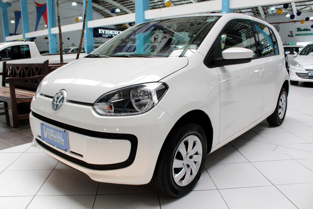 VOLKSWAGEN UP 1.0 TAKE UP FLEX 4P MANUAL - 2015 - BRANCO
