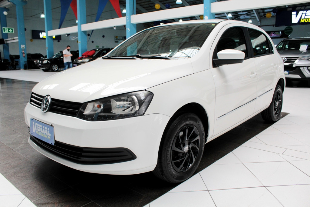 VOLKSWAGEN GOL 1.0 CITY TOTALFLEX  4P MANUAL - 2014 - BRANCO
