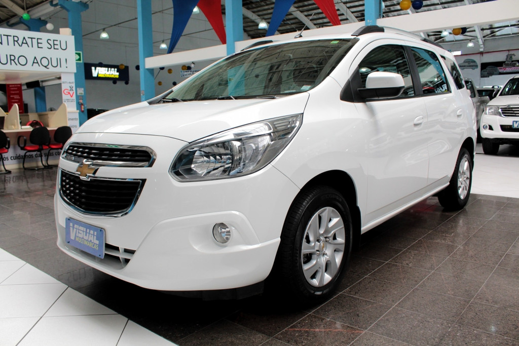 CHEVROLET SPIN 1.8 LTZ 7L FLEX 4P MANUAL 6M - 2017 - BRANCO