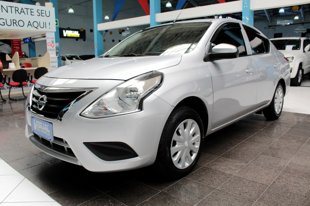 NISSAN VERSA 1.0 FLEX 4P MANUAL - 2019 - PRATA
