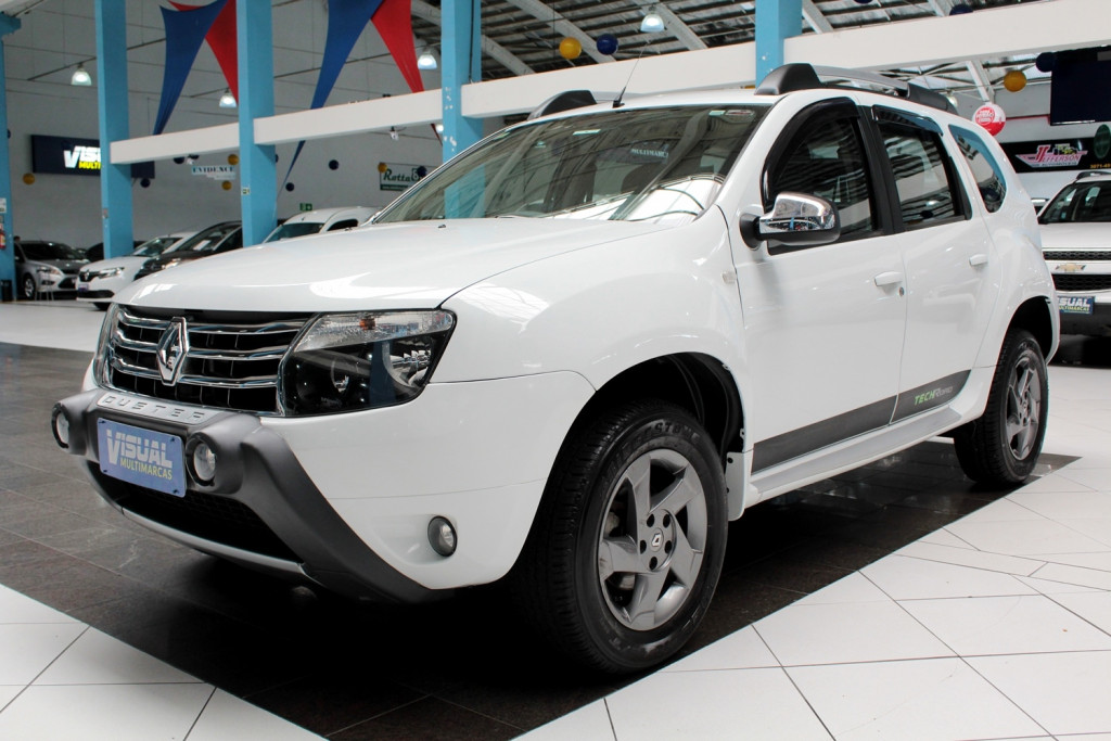RENAULT DUSTER 1.6 TECH ROAD FLEX 4P MANUAL - 2013 - BRANCO