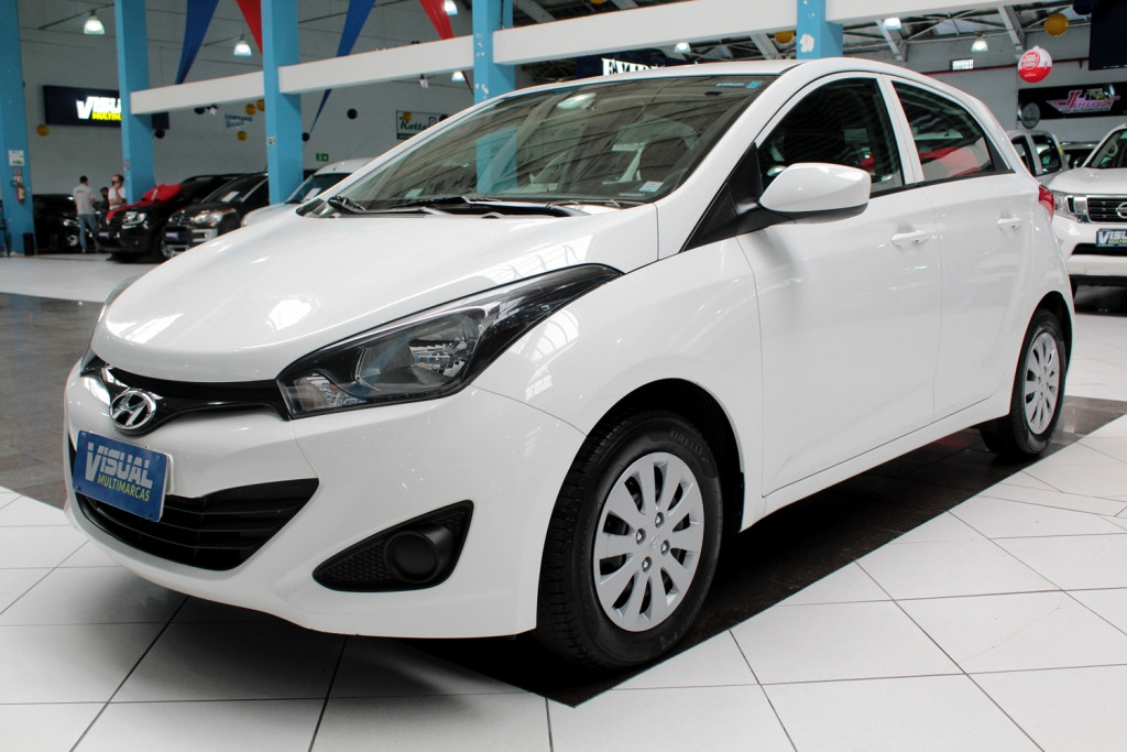 HYUNDAI HB20 1.0 COMFORT FLEX 4P MANUAL - 2014 - BRANCO