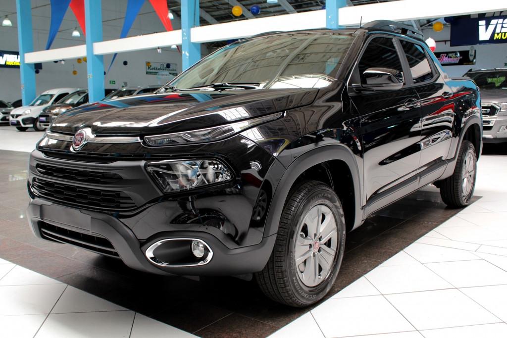 FIAT TORO 1.8  FREEDOM FLEX 4P AUTOMÁTICO 6M - 2021 - PRETO **0 KM**