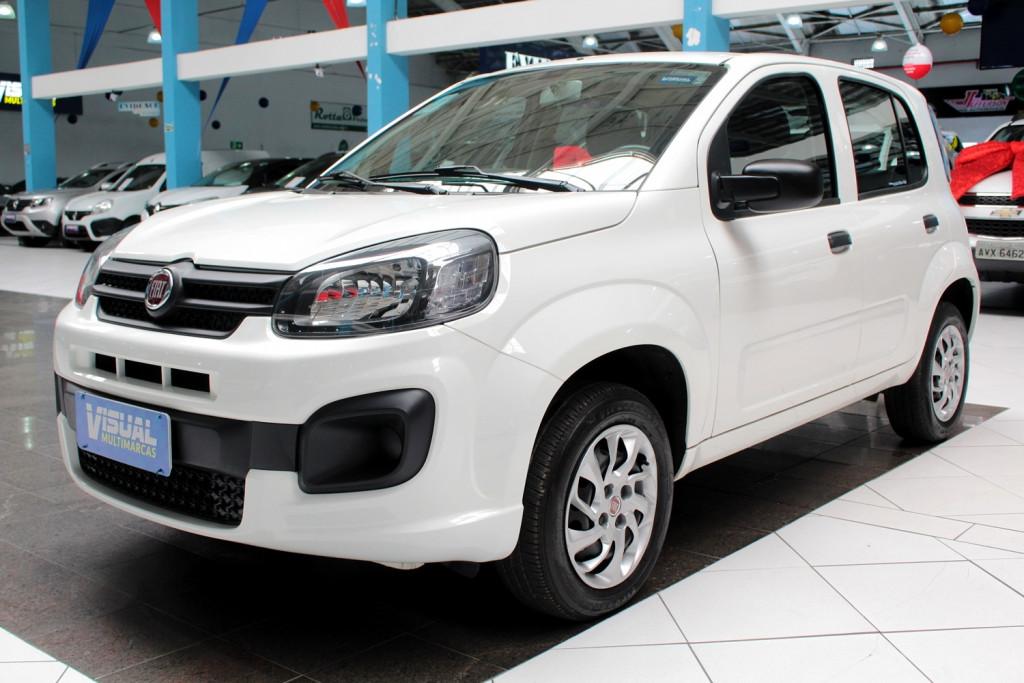 FIAT UNO 1.0 DRIVE FLEX 4P MANUAL - 2018 - BRANCO
