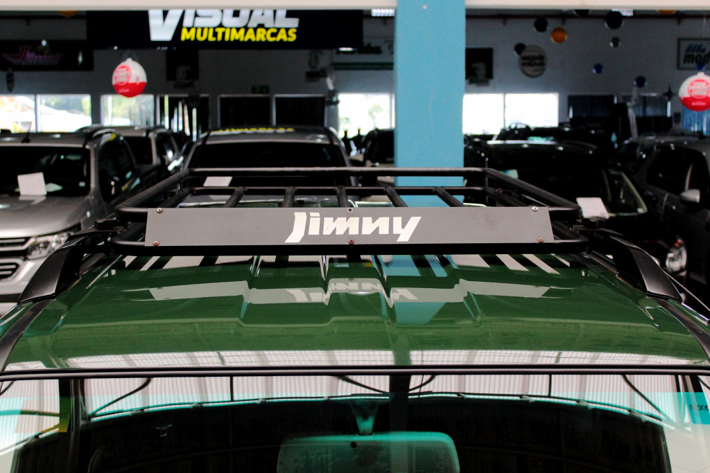 Imagem do veículo SUZUKI JIMNY 1.3 4SPORT 4X4 2P MANUAL - 2019 - VERDE