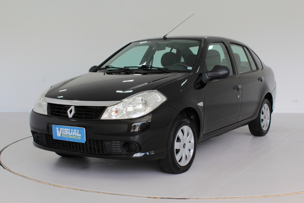 RENAULT SYMBOL 1.6 EXPRESSION FLEX 4P MANUAL - 2012 - PRETO
