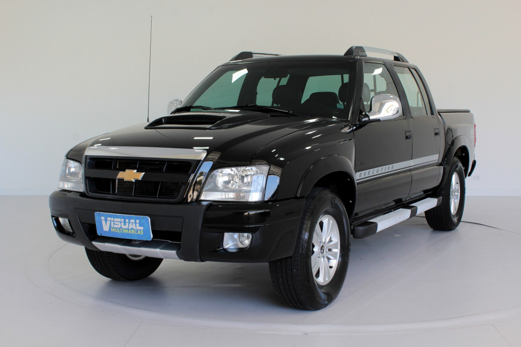 CHEVROLET S10 2.4 EXECUTIVE CD FLEX 4P MANUAL - 2011 - PRETO