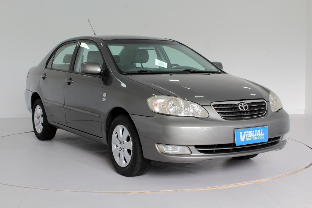 Imagem do veículo TOYOTA COROLLA 1.8 XEI FLEX 4P AUTOMÁTICO - 2008 - CINZA
