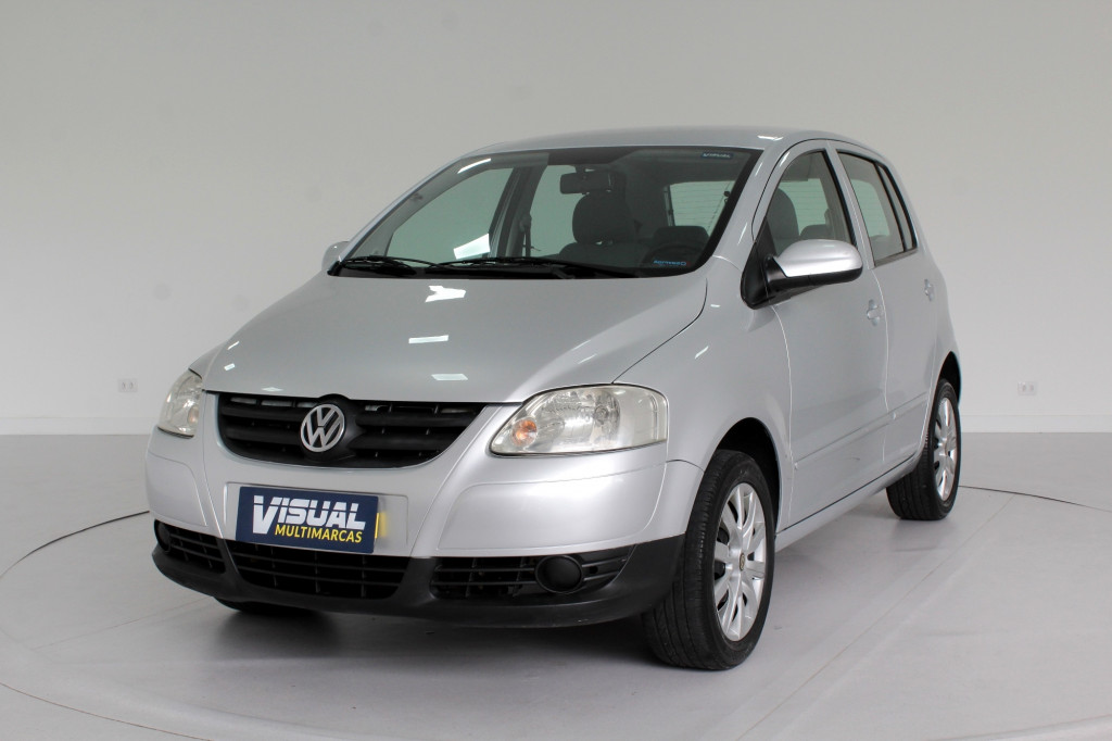 VOLKSWAGEN FOX 1.6 PLUS FLEX 4P MANUAL - 2008 - PRATA