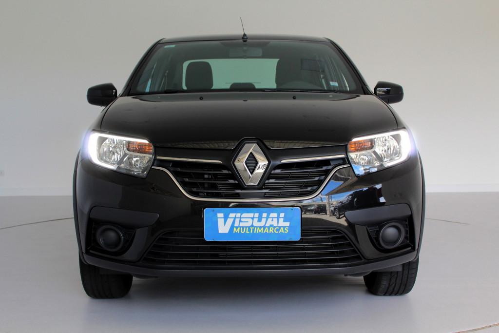 Imagem do veículo RENAULT LOGAN 1.6 ZEN FLEX 4P AUTOMÁTICO CVT 6M - 2020 - PRETO