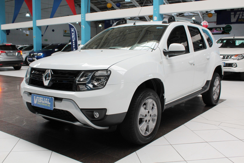 RENAULT DUSTER 1.6 DYNAMIQUE FLEX MANUAL - 2018 - BRANCO