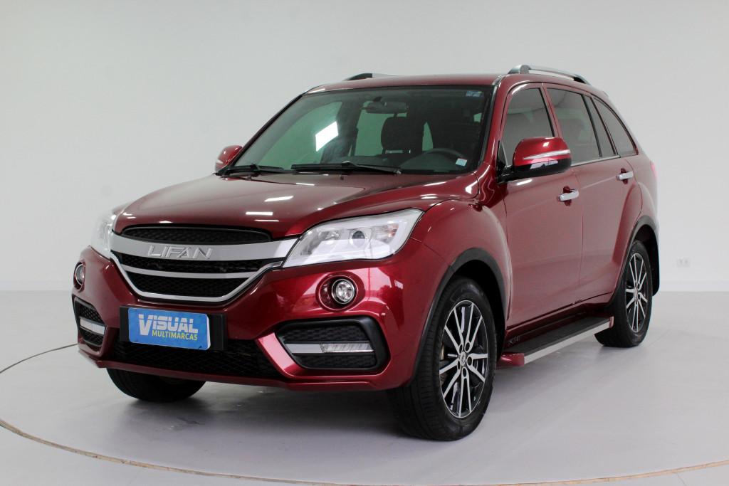 LIFAN X60 1.8 VIP 4P AUTOMÁTICO CVT 6M - 2018 - VERMELHO