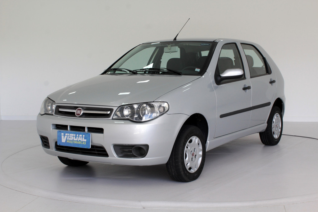 FIAT PALIO 1.0 FIRE FLEX 4P MANUAL - 2011 - PRATA