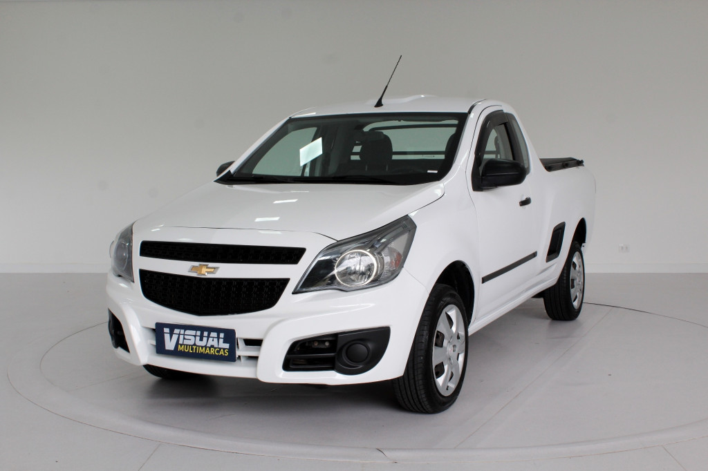 CHEVROLET MONTANA 1.4 LS CS FLEX 2P MANUAL - 2013 - BRANCO