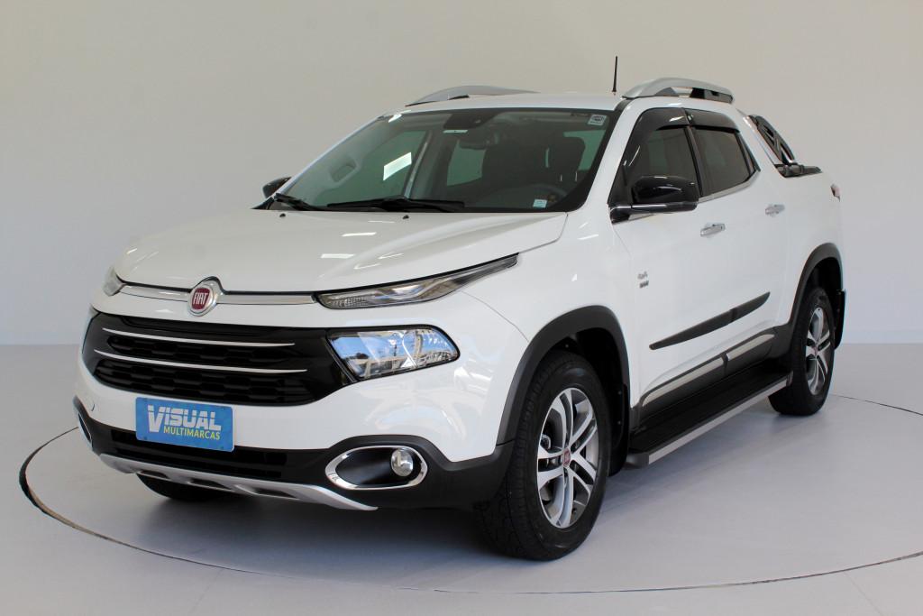 FIAT TORO 2.0 VOLCANO 4WD TURBO DIESEL 4P AUTOMÁTICO 9M - 2017 - BRANCO