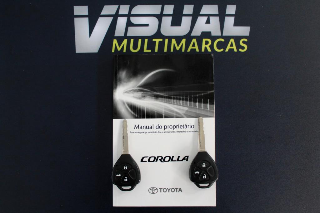 Imagem do veículo TOYOTA COROLLA 1.8 GLI FLEX 4P MANUAL 6M - 2014 - PRETO