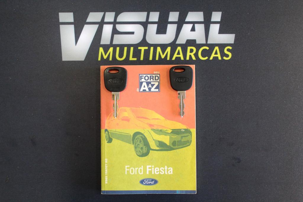 Imagem do veículo FORD FIESTA 1.0 FLEX 4P MANUAL - 2011 - VERMELHO
