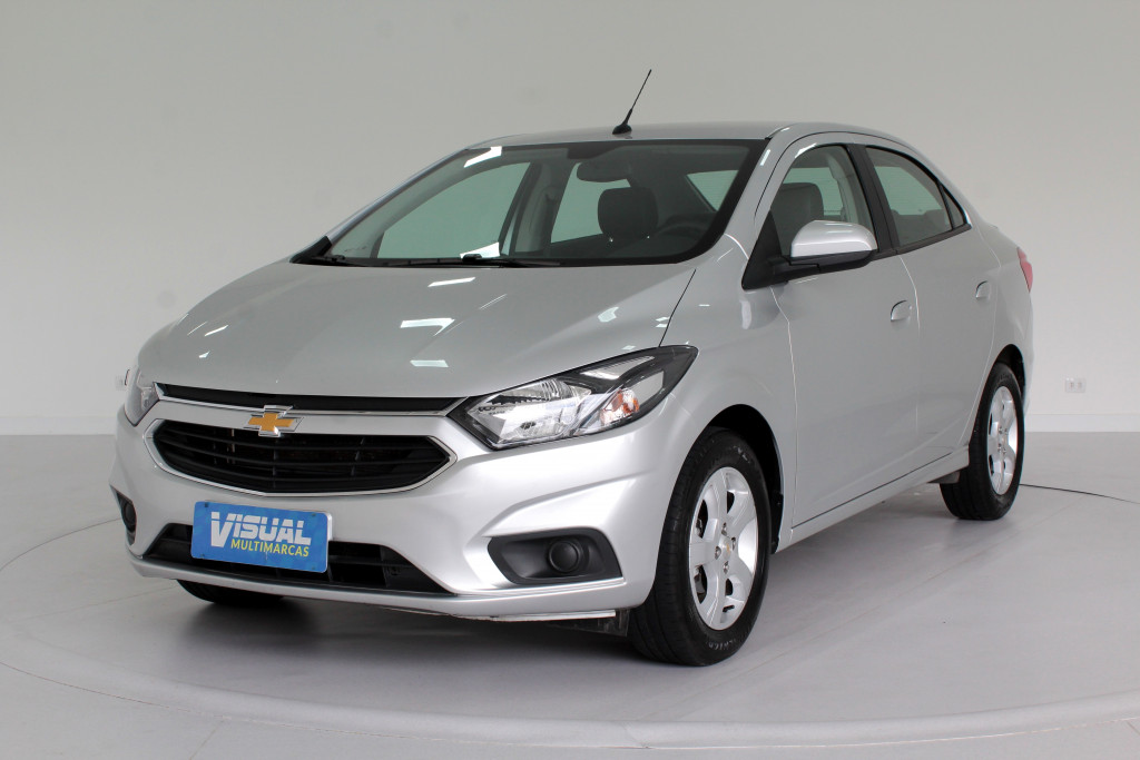CHEVROLET PRISMA 1.4 LT FLEX 4P MANUAL 6M - 2019 - PRATA