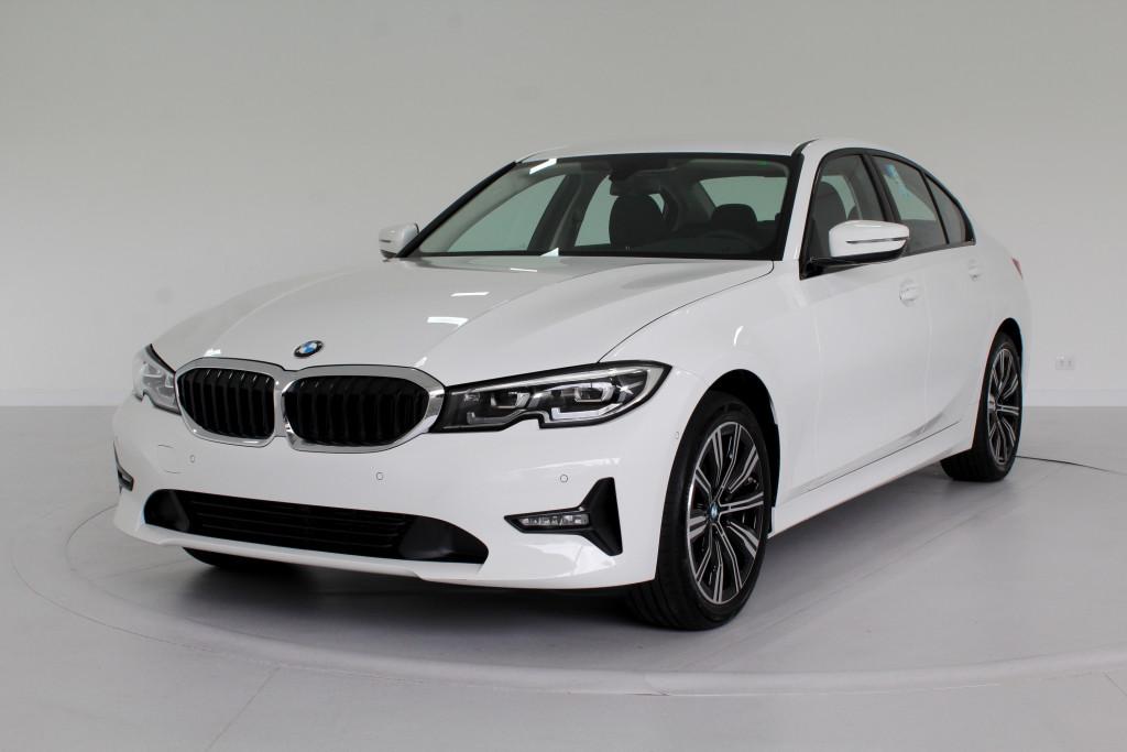 BMW 320i 2.0 TURBO ACTIVE GP FLEX 4P AUTOMÁTICO 8M - 2021 - BRANCO