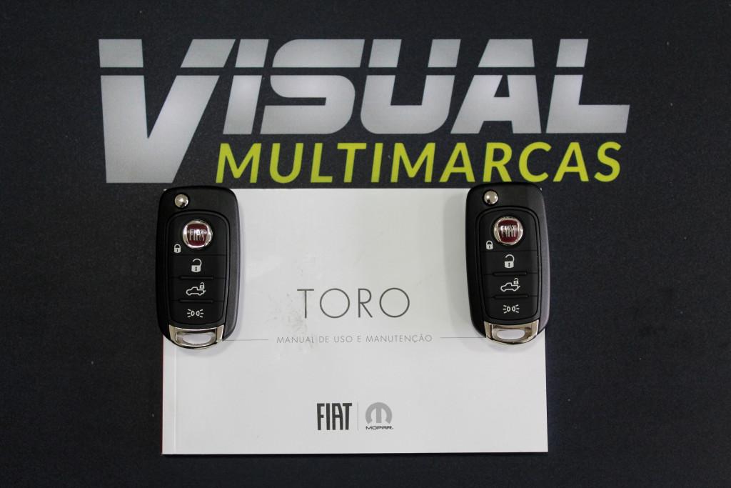 Imagem do veículo FIAT TORO 1.8  FREEDOM FLEX 4P AUTOMÁTICO 6M - 2021 - CINZA **0 KM**
